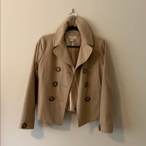 Banana Republic Jackets & Coats - Banana Republic wool short pea coat
